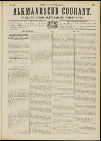 Alkmaarsche Courant 1910-07-25