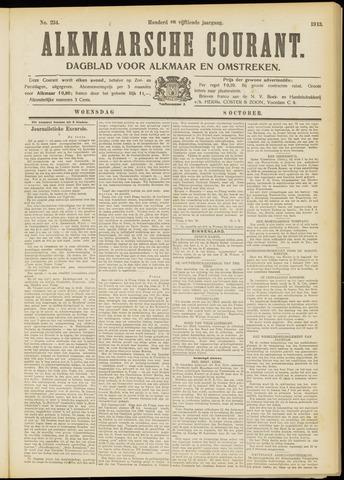 Alkmaarsche Courant 1913-10-08