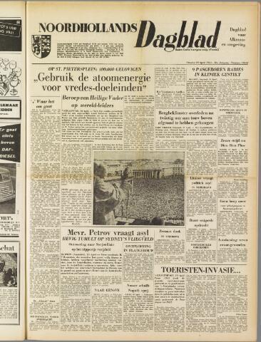 Noordhollands Dagblad : dagblad voor Alkmaar en omgeving 1954-04-20