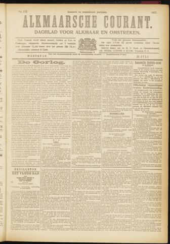 Alkmaarsche Courant 1917-07-25
