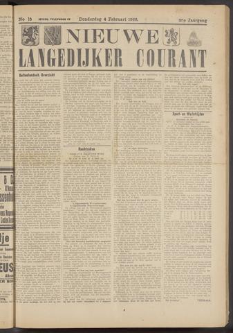 Nieuwe Langedijker Courant 1926-02-04