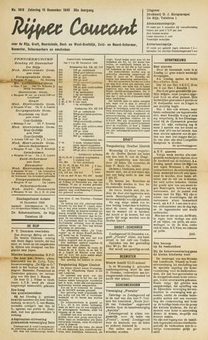 Rijper Courant 1945-12-15