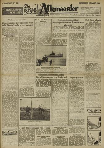 De Vrije Alkmaarder 1949-03-03