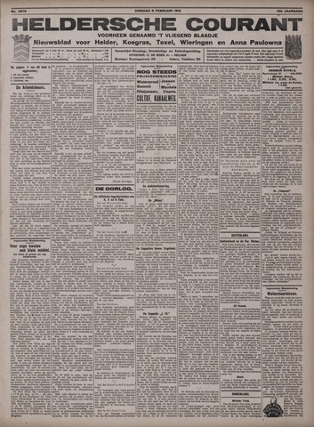 Heldersche Courant 1916-02-08