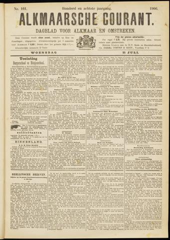 Alkmaarsche Courant 1906-07-11