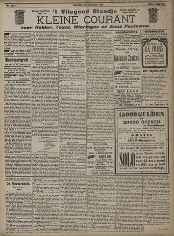 Vliegend blaadje : nieuws- en advertentiebode voor Den Helder 1906-12-29