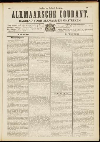 Alkmaarsche Courant 1911-02-13
