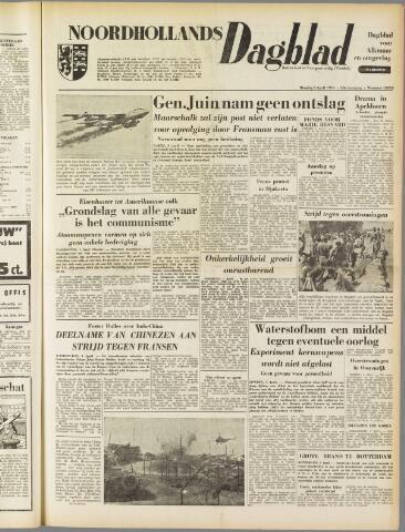 Noordhollands Dagblad : dagblad voor Alkmaar en omgeving 1954-04-06