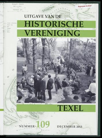 Uitgave Historische Vereniging Texel 2013-12-01