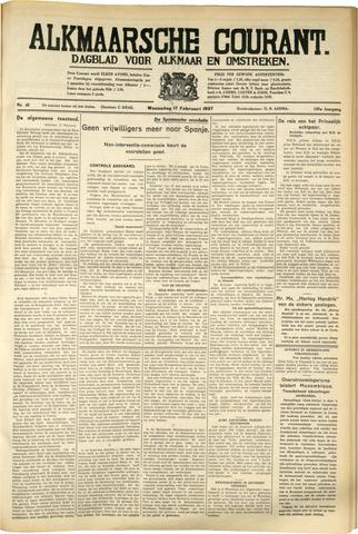 Alkmaarsche Courant 1937-02-17