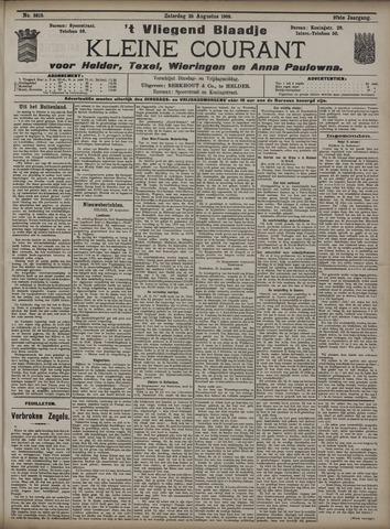 Vliegend blaadje : nieuws- en advertentiebode voor Den Helder 1909-08-28