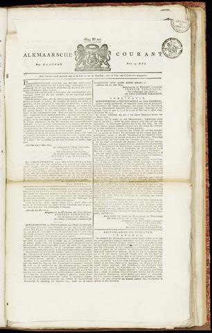 Alkmaarsche Courant 1829-05-25