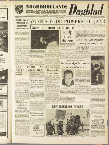 Noordhollands Dagblad : dagblad voor Alkmaar en omgeving 1960-08-20