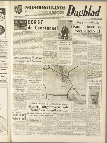 Noordhollands Dagblad : dagblad voor Alkmaar en omgeving 1960-07-07