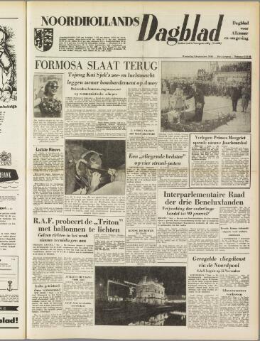 Noordhollands Dagblad : dagblad voor Alkmaar en omgeving 1954-09-08