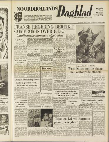Noordhollands Dagblad : dagblad voor Alkmaar en omgeving 1954-08-14