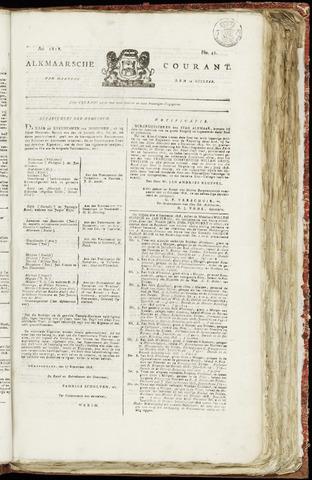 Alkmaarsche Courant 1818-10-12
