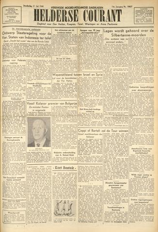 Heldersche Courant 1949-07-21