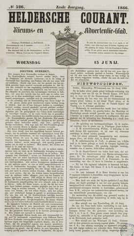 Heldersche Courant 1866-06-13