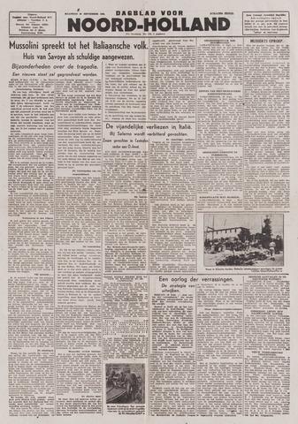 Dagblad Noord-Holland, Schager editie 1943-09-20