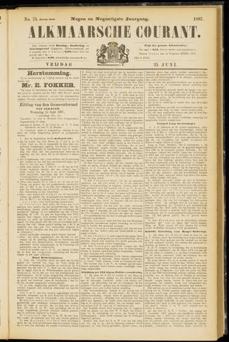 Alkmaarsche Courant 1897-06-25