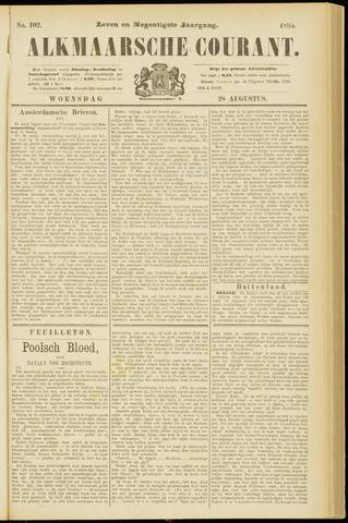 Alkmaarsche Courant 1895-08-28