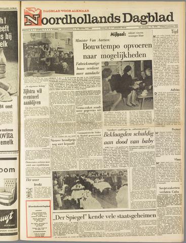 Noordhollands Dagblad : dagblad voor Alkmaar en omgeving 1962-11-09