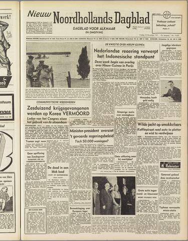Nieuw Noordhollandsch Dagblad : voor Alkmaar en omgeving 1951-11-16
