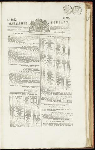 Alkmaarsche Courant 1843-08-21