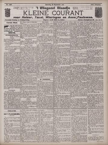Vliegend blaadje : nieuws- en advertentiebode voor Den Helder 1913-09-20