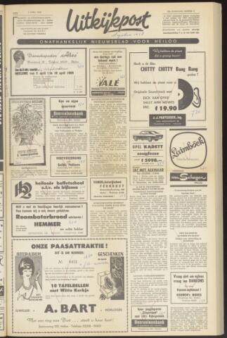 Uitkijkpost : nieuwsblad voor Heiloo e.o. 1969-04-02