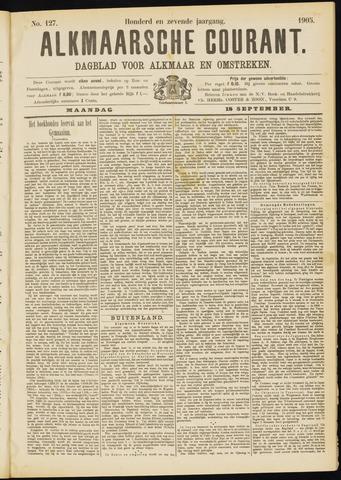 Alkmaarsche Courant 1905-09-18