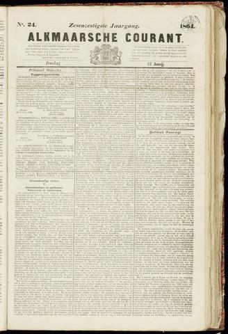 Alkmaarsche Courant 1864-06-12