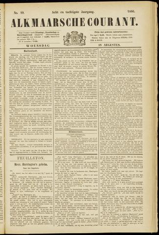 Alkmaarsche Courant 1886-08-18