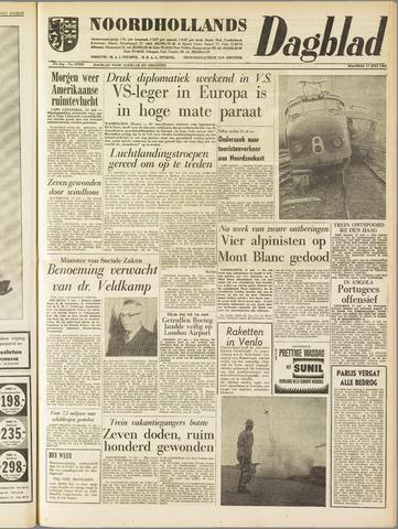 Noordhollands Dagblad : dagblad voor Alkmaar en omgeving 1961-07-17