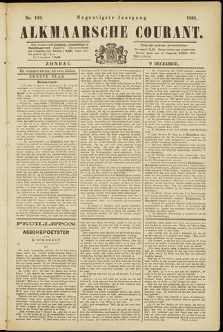 Alkmaarsche Courant 1888-12-09