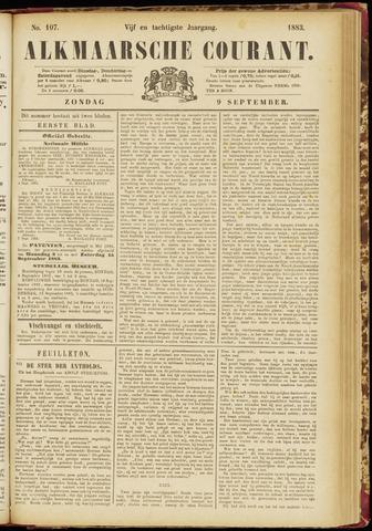 Alkmaarsche Courant 1883-09-09