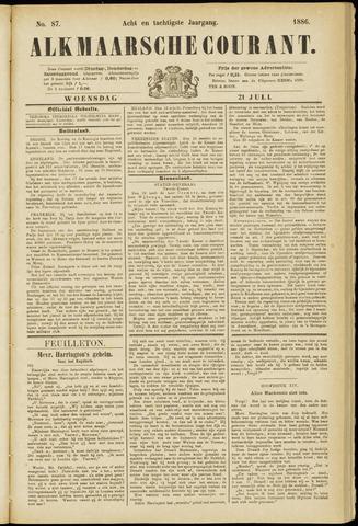 Alkmaarsche Courant 1886-07-21