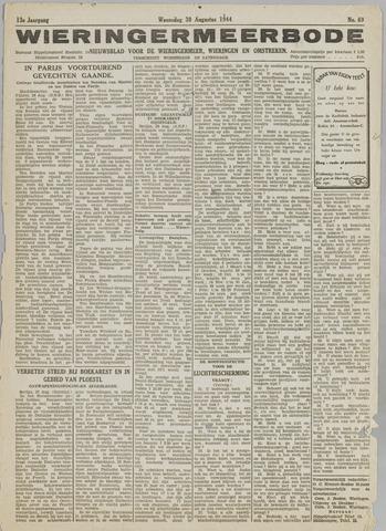 Wieringermeerbode 1944-08-30