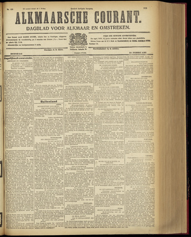 Alkmaarsche Courant 1928-02-21