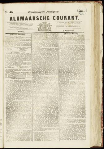 Alkmaarsche Courant 1864-11-06