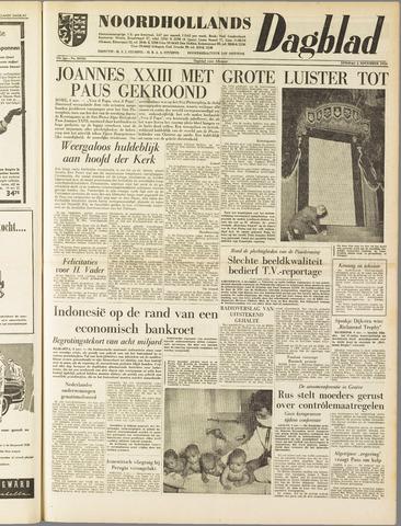 Noordhollands Dagblad : dagblad voor Alkmaar en omgeving 1958-11-04