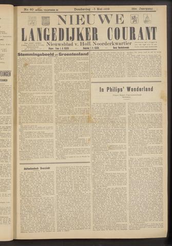 Nieuwe Langedijker Courant 1929-05-23