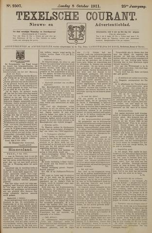 Texelsche Courant 1911-10-08