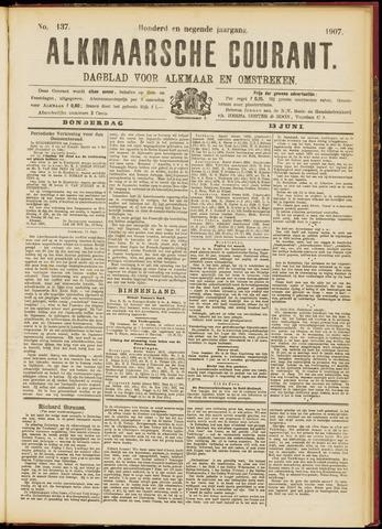 Alkmaarsche Courant 1907-06-13