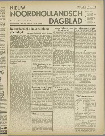 Nieuw Noordhollandsch Dagblad : voor Alkmaar en omgeving 1945-07-06