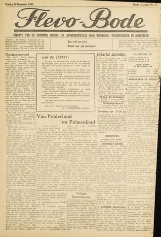 Flevo-bode: nieuwsblad voor Wieringen-Wieringermeer 1949-12-31