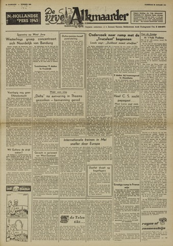 De Vrije Alkmaarder 1950-01-28