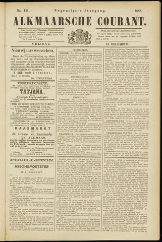 Alkmaarsche Courant 1888-12-14