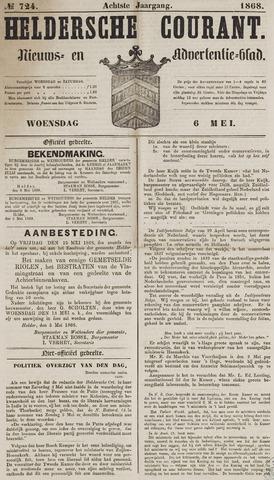 Heldersche Courant 1868-05-06